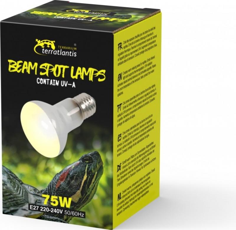 Terratlantis Lampe spot réfléchissante avec UVA