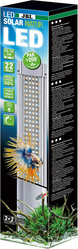 JBL Led Solar Natur Hochleistungs-LED-Lampe für Süßwasseraquarien