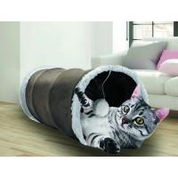 Tunnel di peluche con fruscio per gatto - Diversi colori
