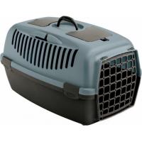 Cage de transport pour chien et chat Gulliver 1, 2 et 3, Bleu acier