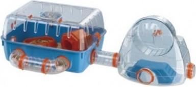 Cage pour petit rongeur COMBI 2 avec aire de jeux