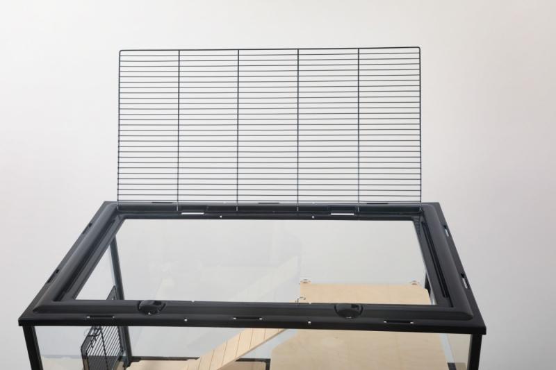 Cage NEVO Palace pour grands rongeurs, Plusieurs couleurs, h86cm