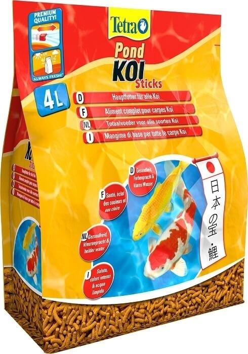 Tetra pond koi sticks futter f r teichfische for Teichfische futter