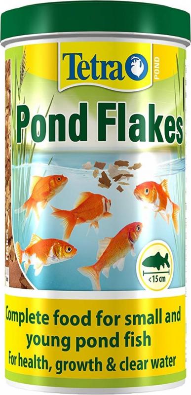 Tetra Pond Flakes de 1 à 10L Aliment complet en paillette pour bassin