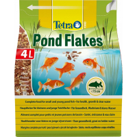 Tetra Pond Goldfish Komplettnahrung Flocken 1 bis 10L