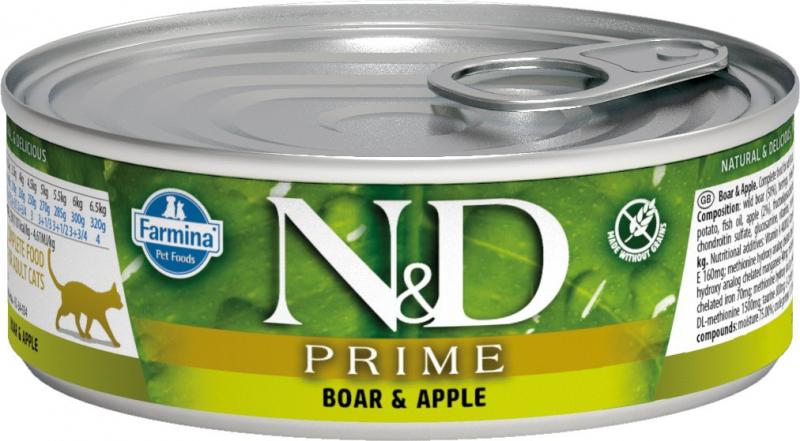 FARMINA N&D Prime Grain free pour chat - 4 recettes au choix