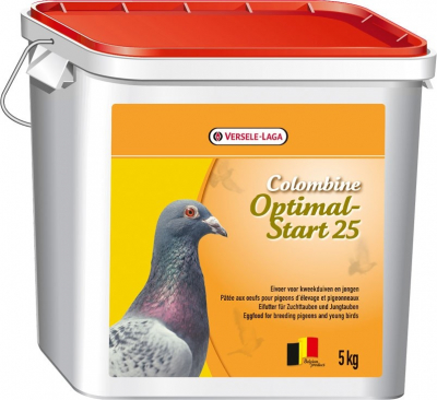 Optimal Start 25- Colombine pour pigeon d'ornement