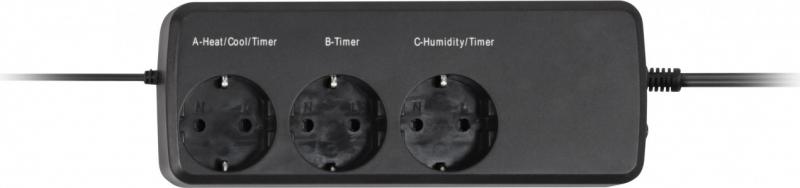 Thermo Hygrostat digital avec minuterie