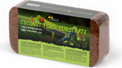 substrat fibres de noix de coco pour terrarium tropical. Black Bedroom Furniture Sets. Home Design Ideas