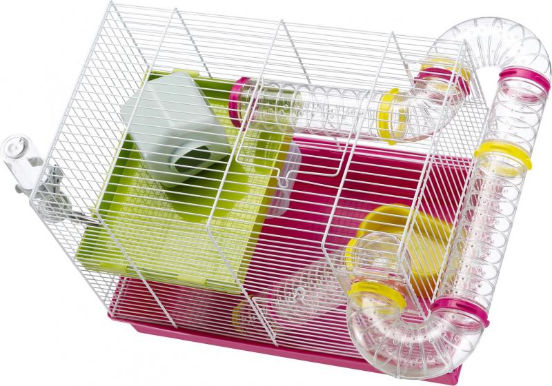 Cage pour petit rongeur - 46 cm - Laura