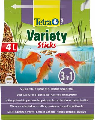 Tetra Pond Variety Sticks Mélange de sticks pour poissons de bassin