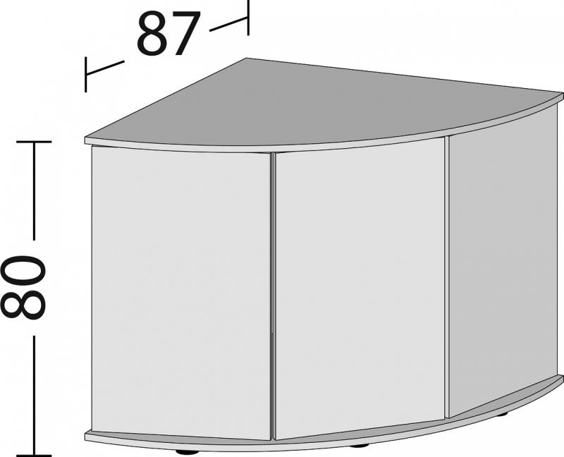 Meuble SBX JUWEL Trigon 350