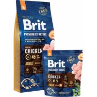 BRIT Premium By Nature Adult M pour Chien adulte de taille moyenne