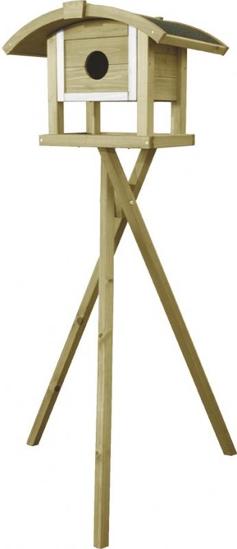 mangeoire sur pied jungfrau pour oiseaux de la nature 149cm. Black Bedroom Furniture Sets. Home Design Ideas
