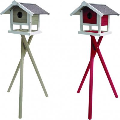 Comedero surelevado Jura para pájaros silvestres, 140cm
