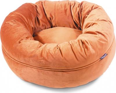 Panier Donut Velvetti orange, 60 et 100cm