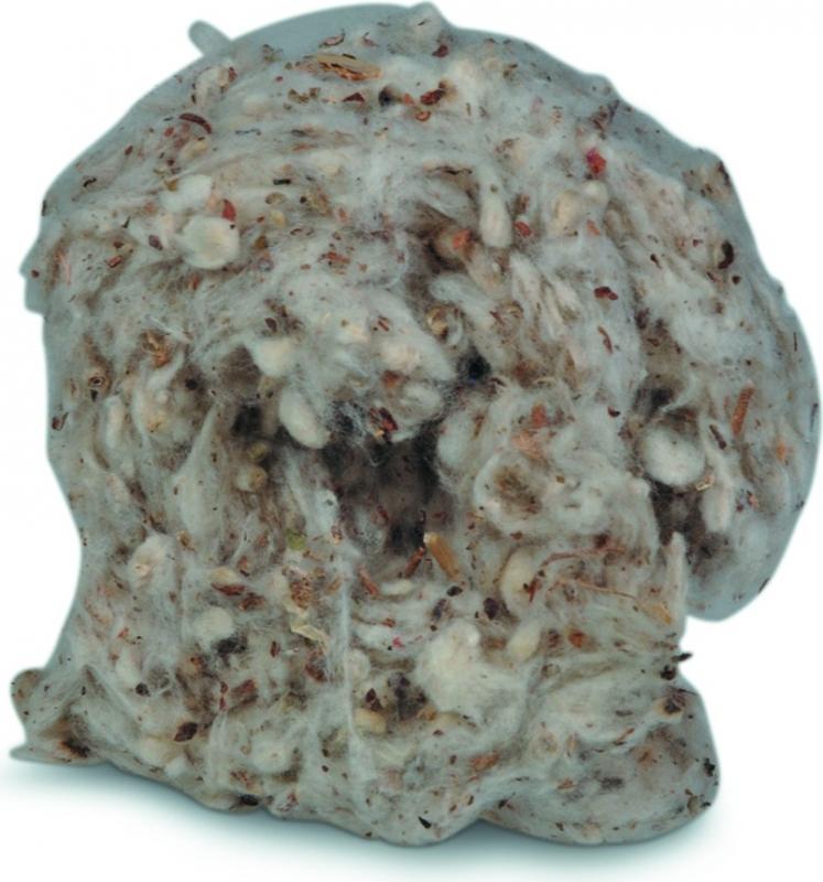 Nid douillet hamster coton naturel