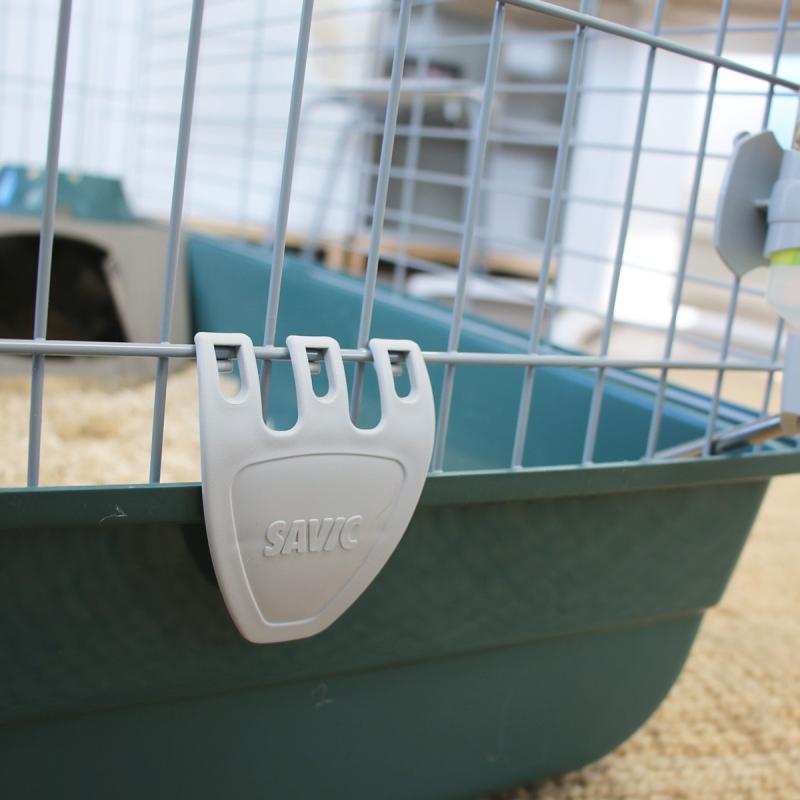 Cage NERO 3 Moderne Luxe Bleu Vert pour Lapin et Cochon d'Inde - 100cm