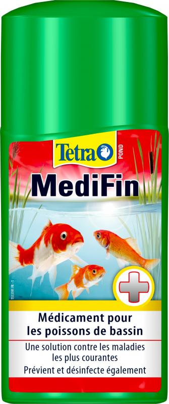Tetra Pond MediFin Traitement large spectre pour bassin