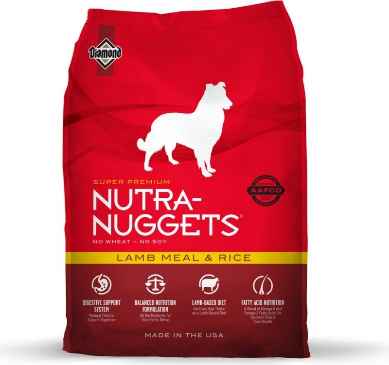 NUTRA NUGGETS Lamb Meal & Rice pour Chien Adulte
