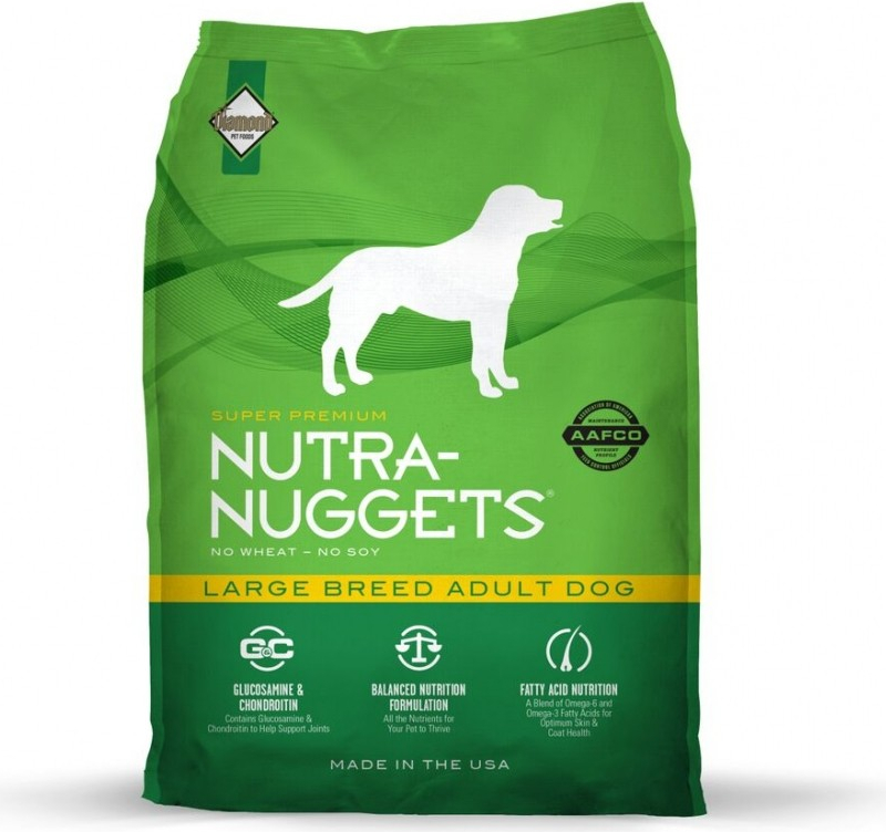 NUTRA NUGGETS Large Breed pour Chien Adulte de Grande Taille
