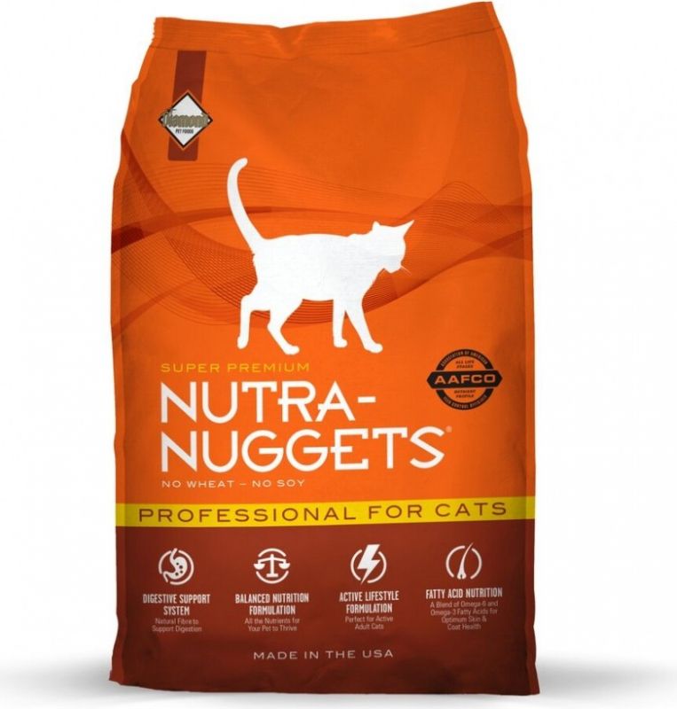 NUTRA NUGGETS Professional Cat pour Chat Adulte Actif