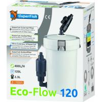 Superfish Filtre Extérieur ECO FLOW 120