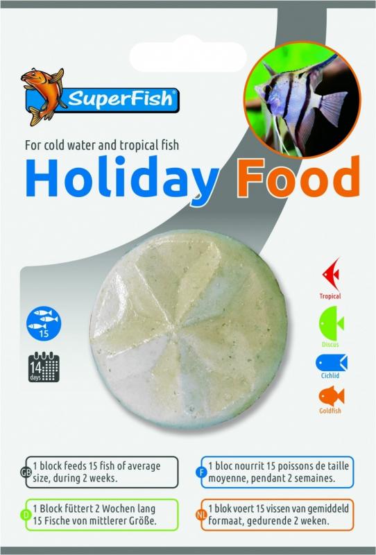 Bloc Vacances nourriture poissons Holiday Food
