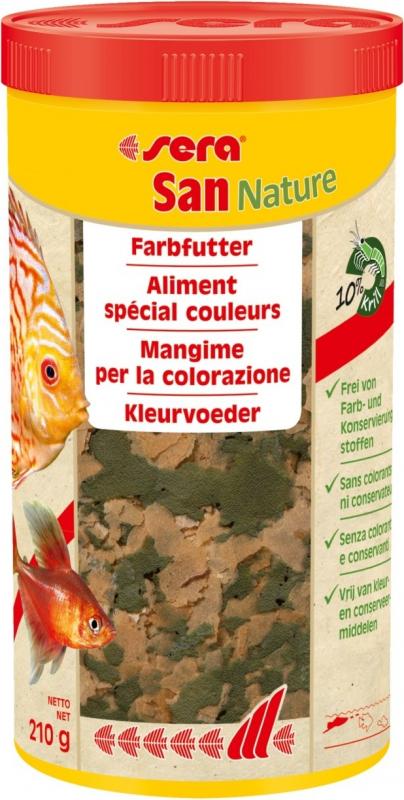 Sera San Nature Aliment spécial couleur