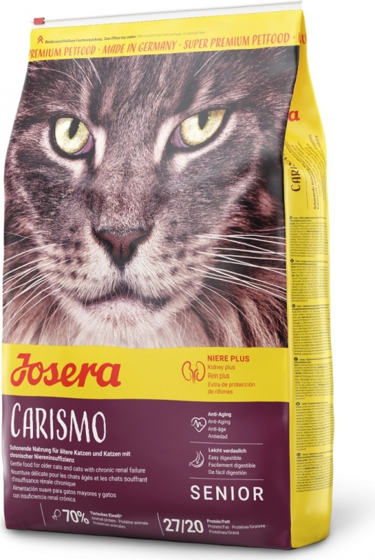JOSERA Carismo Senior | Renal para gato Senior o con insuficiencia renal