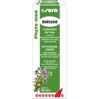 Sera Phyto Med Baktazid Conditionneur d'eau contre les infections bactériennes extérieures