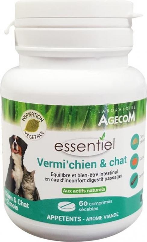 Essentiel Vermi Chien et Chat 60 comprimés