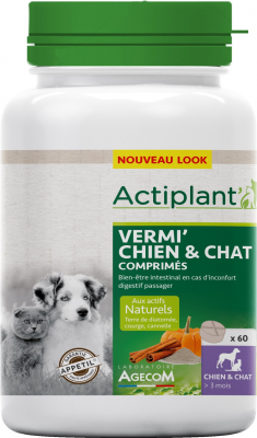 ACTI Vermi Chien et Chat 60 comprimés