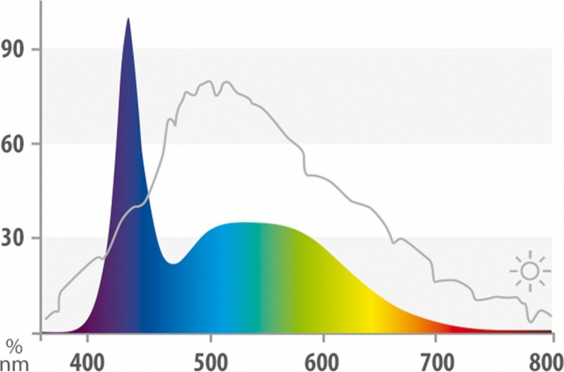 Juwel LED Day 9000K Tube Led pour galerie MultiLux