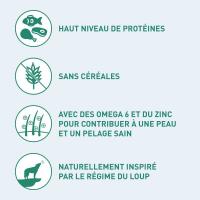 NUTRO Wild Frontier Cerf & Bœuf Sans Céréales pour Chien Adulte de taille moyenne