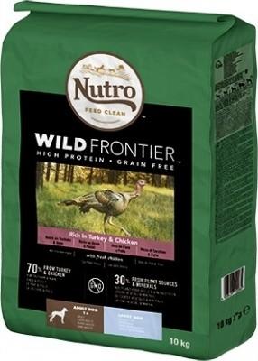 NUTRO Wild Frontier Dinde & Poulet Sans Céréales pour Chien Adulte de taille moyenne