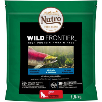 NUTRO Wild Frontier Adult Salmone & Pesce Bianco Senza Cereali per Gatti Adulti