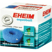 Mousses bleues 2 pcs EHEIM pour Aquaball 60-130
