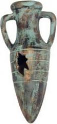 Ánfora de bronce  10 cm con difusor
