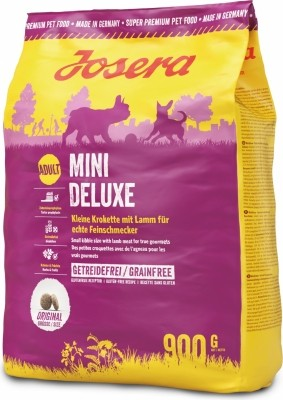 JOSERA Mini Deluxe Sans Céréales pour Chien Adulte de Petite Taille