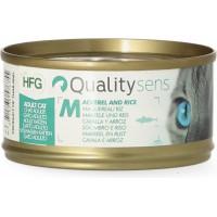 QUALITY SENS HFG - Pâtées 100% Naturelles 70g pour Chat & Chaton - 6 recettes au choix