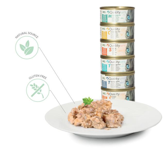 ingredients patées hfg quality sens