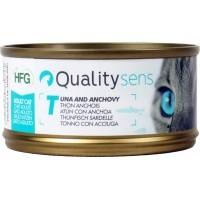 QUALITY SENS HFG Multipack - Pâtées 100% Naturelles pour Chat & Chaton - 6x 70g