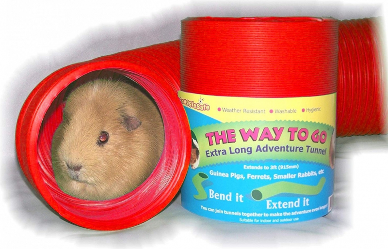 Snugglesafe Way To Go Tunnel extensible 90 cm pour rongeurs