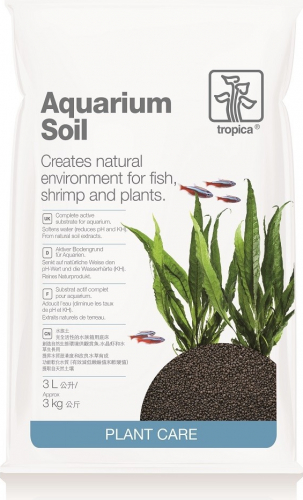 Tropica Aquarium Soil Substrat complet actif et naturel