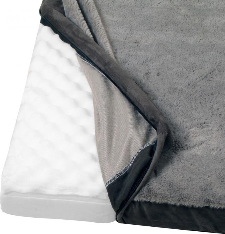 Cama colchón con memoria de forma para perros Zolia Nixon - Disponible en 3 tamaños