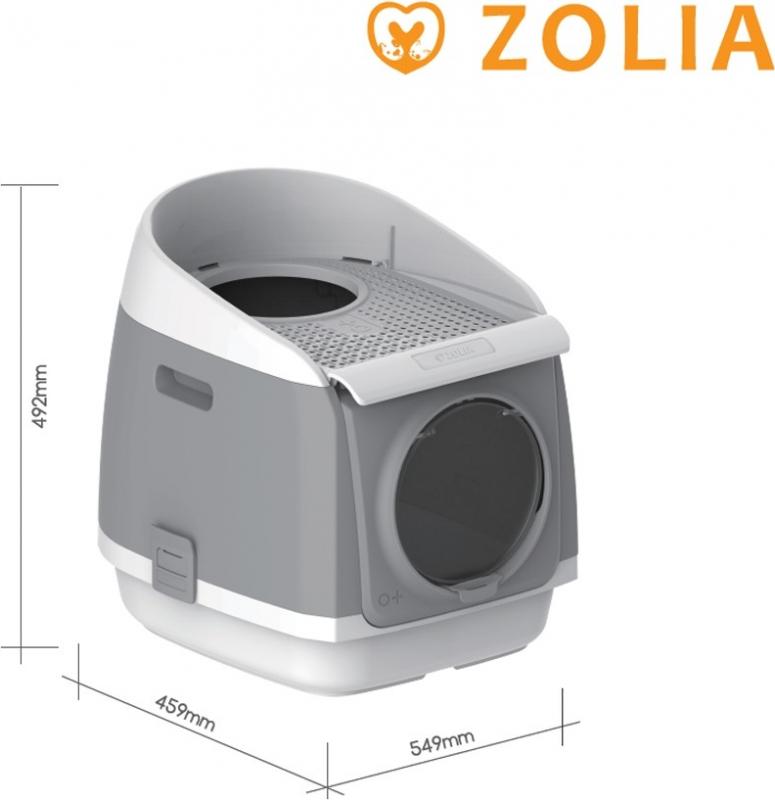 Maison de toilette avec filtre Zolia EasyMoov