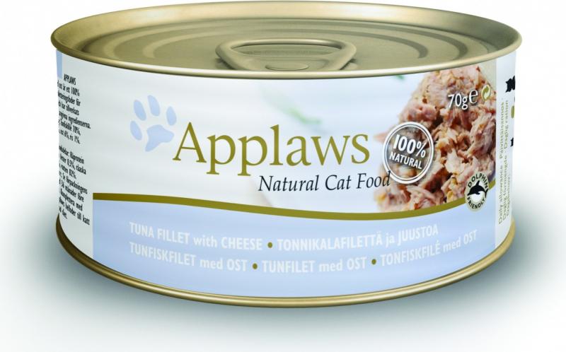 Boîtes en bouillon pour chat Applaws - 70g