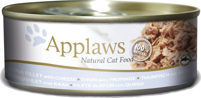 Boîtes en bouillon pour chat Applaws - 156g