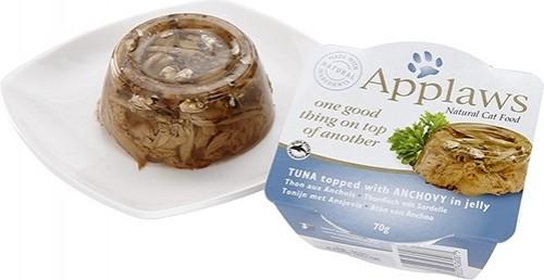 APPLAWS Petit Pot fraîcheur en Gelée 70g pour chat adulte - 3 saveurs